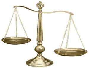 szale sprawiedliwości