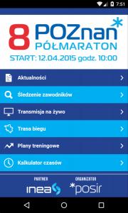 aplikacja poznań półmaraton