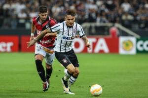 Brazil: Football match between Corinthians vs. Danubio