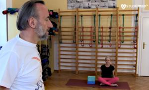 Joga dla początkujących - ćwiczenia wzmacniające Link do filmu YouTube