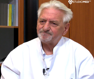 Rozmowa z prof. Andrzejem Horbanem.  Jak dochodzi do zakażenia koronawrisuem? Link do filmu YouTube